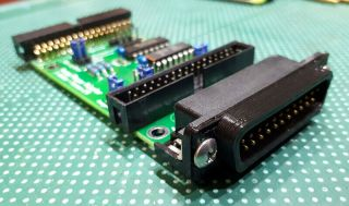 Amiga Floppy Drive Adapter - For Internal / External Connection - Assembled Pcb