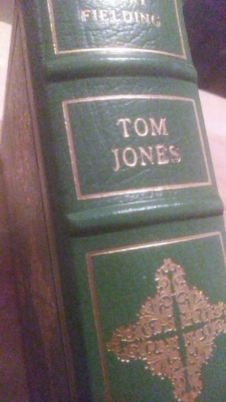 The History Of Tom Jones By Henry Fielding Franklin Library - 100 Greatest Books