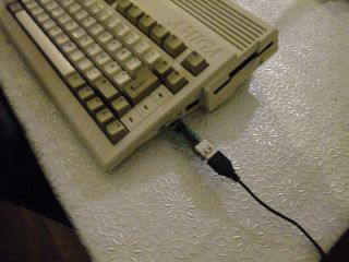 Commodore Amiga Usb Ps/2 Mouse Adapter For A600 And Others