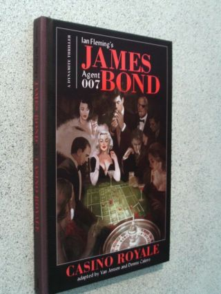 Fine - Ian Fleming - - Casino Royale - - 1st In This Edition 2018 - - - - Hardback