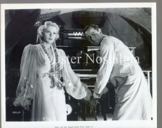 Vintage Photo 1943 Frankenstein Meets The Wolfman 59 Ilona Massey Patric Knowles