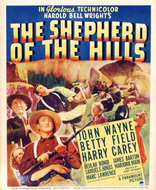 Vintage Movie 16mm Shepard Of The Hills Feature 1941 Film Adventure Western
