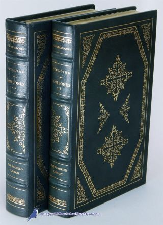 Tom Jones By Henry Fielding: Nf Franklin Library Leather 2 - Vol.  Ill.  Set 82259