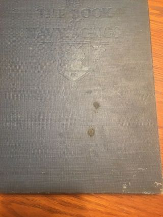 Us Naval Academy Annapolis Trident Society The Book Of Navy Songs 1937