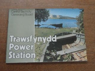 Vintage Cegb Guide To The Trawsfynydd Nuclear Power Station 1960s