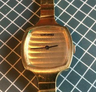 Vintage 1980s Longines Women's Mechanical Watch.  (running)