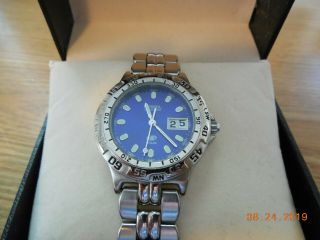 """"""" Vintage """" Fossil Blue Womens"""