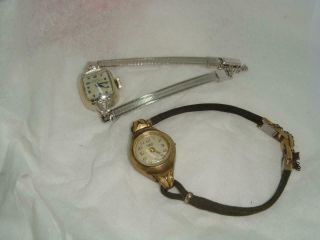 Dumont Girad Perregaux Ladies Watches Nonworking Vintage Windup