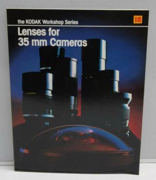 Kodak Workshop Lenses For 35mm Cameras Kw - 18 1984 1441757 Book - Bk2