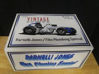 1:18 Gmp Vintage Series Fike Plumbing Special Sprint Car Parnelli Jones 7602