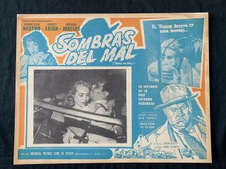 Touch Of Evil Orson Welles Mexican Vintage Lobby Card 1958