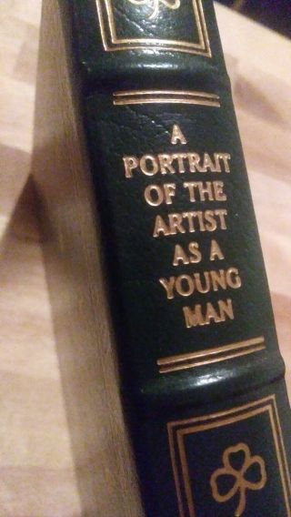 A Portrait Of The Artist As A Young Man By James Joyce - Easton Press Leather