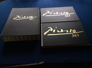 Picasso 347 First Edition 2 Volume Set 1969