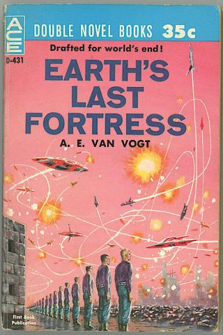 Ace Sci - Fi Double D - 431 A.  E.  Van Vogt And George O.  Smith Ed Emsh Fine