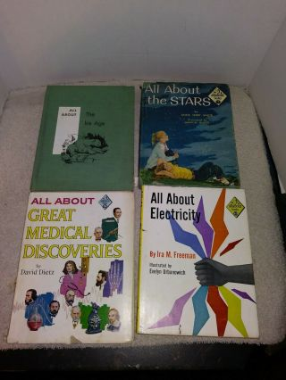Allabout Books Medical Discoveries Electricity The Stars The Ice Age