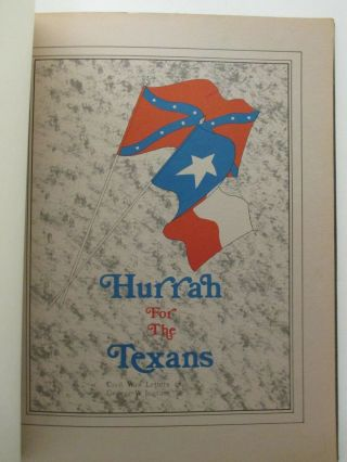 """Signed By Schultz """" Hurrah For The Texans: Civil War Letters Of George W.  Ingram """""""