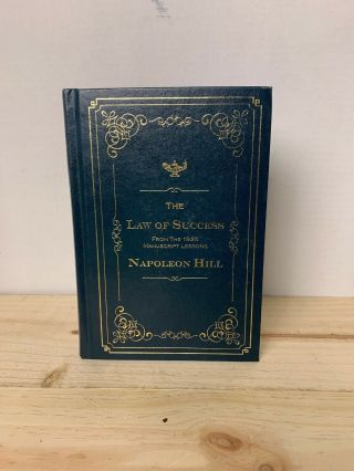 The Law Of Success Napoleon Hill H/cover