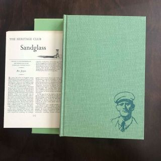 Portrait Of The Artist As A Young Man By James Joyce Heritage Slipcase/sandglass