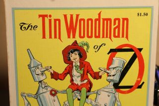 The Tin Woodman Of Oz 1956 By L.  Frank Baum Sequel To Wizard Of Oz Vgc Woodman