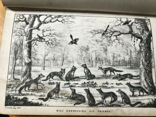 The Life Of A Fox.  Written By Himself.  Illustrations By Thomas Smith.  1852.