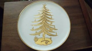"Vintage Italian Pottery Exclusively For Saks Fifth Avenue 11 "" Plate"