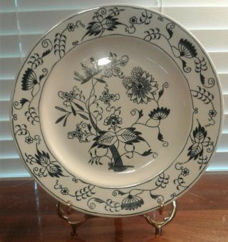 "Vintage Royal China Doorn Blue Onion Tree 10 "" Dinner Plate 5 Available"