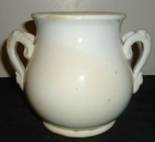 Vintage/antique White Ironstone China Sugar Bowl J & G Meakin Hanley England