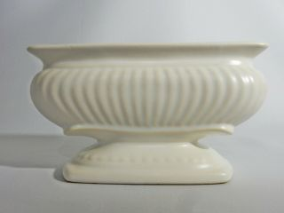 Lovely Vintage Retro Braemore C - 8 White Cream Vase Pot Dish Australian Pottery