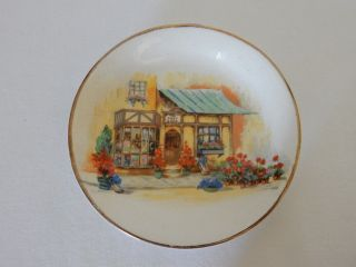 Lovely Vintage Sandland Ware Lancaster Hanley The Posy Shop Pin Dish Plate Bowl