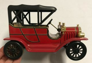 1960s Vintage Tin Model T Ford,  Battery Operated Made In Japan