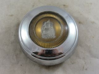 Vintage 1949 1950 Plymouth Special Deluxe Steering Wheel Horn Button