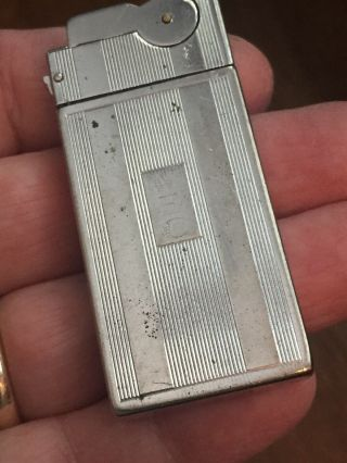Vintage Semi Automatic Asr Pocket Lighter