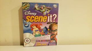 Scene It? The Dvd Disney Game Pack