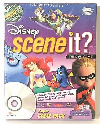 Disney Scene It? The Dvd Game Game Pack