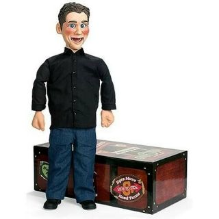 "Real Jeff Dunham "" Little Jeff "" Ventriloquist"