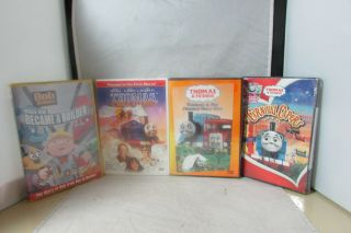 Thomas & Friends 4 Dvds Movies 3 And 1
