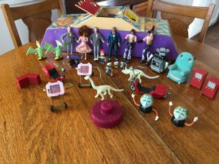 Pee Wee's Playhouse Matchbox Playhouse And 27 Figures And Dvd