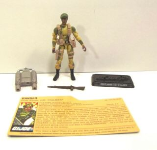 Gi Joe Cobra 25th 2008 Dvd Sgt.  Stalker Loose Complete