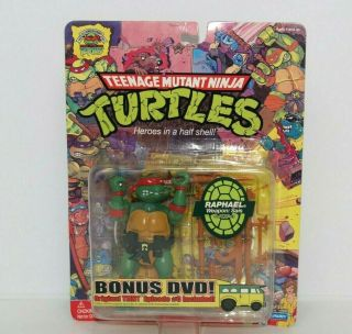 Teenage Mutant Ninja Turtles 25th Anniversary Raphael With Bonus Tmnt Dvd
