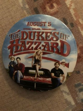 Dukes Of Hazzard General Lee & Cast 2006 Release To Dvd Movie