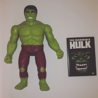 The Incredible Hulk 1991 Figure,  Dvd