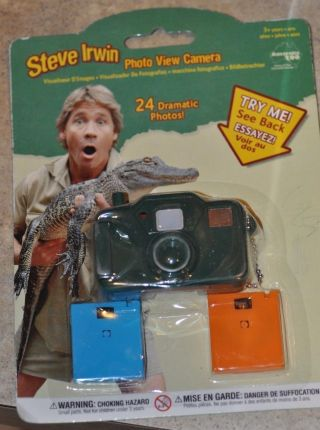Steve Irwin Eco Expedition Australian Zoo Photo View Camera In Package