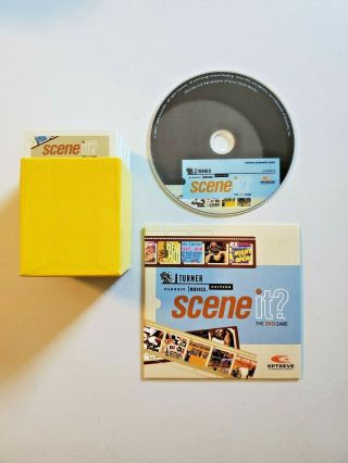 Scene It? (tmc) Turner Classic Movies Edition Dvd Game Replacement Cards,  Dvd