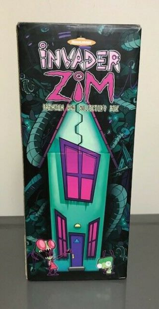Invader Zim Premium Dvd Collector Box No Dvd