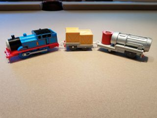 "Thomas Tank Engine And The Jet Motorized With Dvd Of Episode "" Tomy Trackmaster"