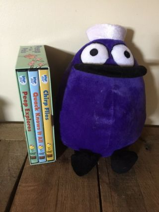 Peep & The Big Wide World (3) Dvd Boxed Set With Quack Plush
