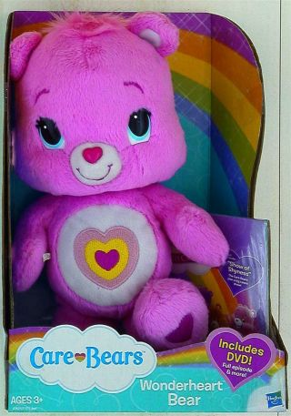 Hasbro Care Bears Wonder Heart Bear 30cm Dvd With 2012