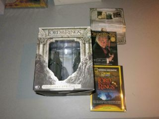 Lord Of The Rings Fellowship Extended Dvd Collectors Gift Set Argonath Bookends