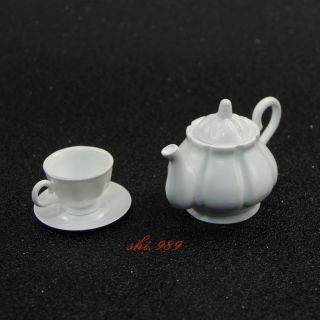 1/6 Scale Did Wwii German General Drud D80123 - Coffee Pot W/ Cup & Saucer