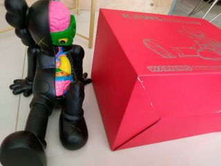 """2013 Kaws Black Dissected Resting Place 16 """" Bff Companion Slate Open Holiday 4ft"""